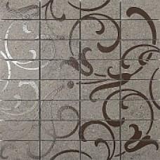 Декор KERAMA MARAZZI Фьорд 300x300 серый мозаичный ажур DP168/011