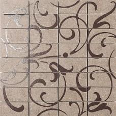 Декор KERAMA MARAZZI Фьорд 300x300 табачный светлый мозаичный ажур DP168/012