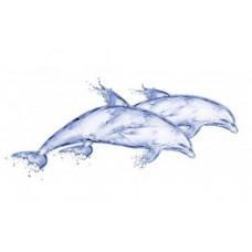 Декор CERSANIT Deepblue 440x200 Дельфин DB2G051D