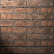 Плитка настенная GOLDEN TILE Brickstyle 250х60 WESTMINSTER оранжевый 24Р020