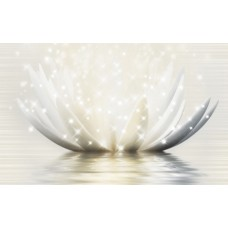 GOLDEN TILE Magic Lotus 400x250 декор 19Г331
