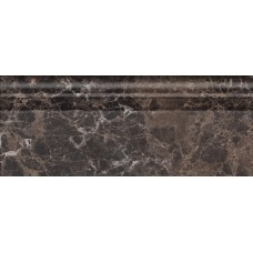 Бордюр GOLDEN TILE Lorenzo Modern 300x120 H47331 dark