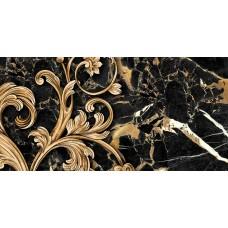 Плитка керам. GOLDEN TILE Saint Laurent 600x300 декор черный 9АС321