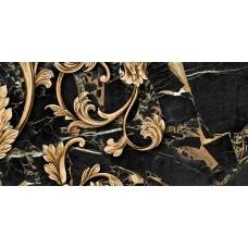 Плитка керам. GOLDEN TILE Saint Laurent 600x300 декор черный 9АС341