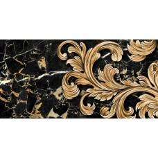 Плитка керам. GOLDEN TILE Saint Laurent 600x300 декор черный 9АС311