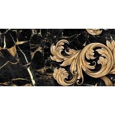 Плитка керам. GOLDEN TILE Saint Laurent 600x300 декор черный 9АС331