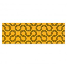 Плитка настенная MEI Spin 750x250 yellow-black geo O-SPI-WTU061