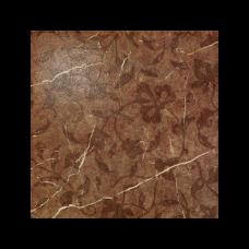 Декор COLISEUM Сицилия 450х450 Листья коричневый