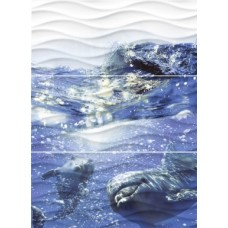 WAVE DOLPHINS ПАННО 60X44