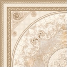 Керамогранит CERSANIT Petra 420x420 beige напольная вставка PR6R302